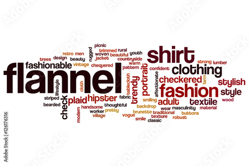 Flannel Word Cloud Stock Photo And Royalty Free Images On Pic 126176316