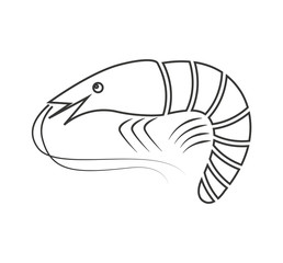 lobster seafood animal isolated icon vector illustration design