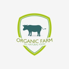 Farm logo labels and designs. Vector Illustration