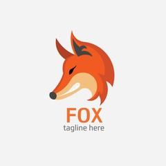Fox head Vector Illustration. Illustration of fox head cartoon style