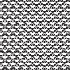 white cup white curly lines cross pattern background