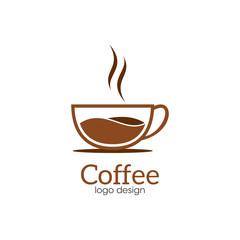 Coffee Creative Concept Logo Design Template