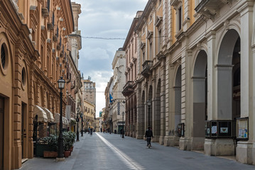 Chieti (Italy) - Views of the historic center in Chieti city, the provincial capital in the Abruzzo region, central Italy