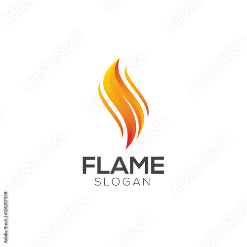 Flame logo designu0026quot; Stock image and royalty-free vector files on ...