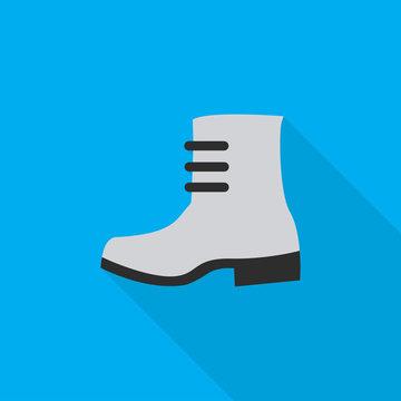 boot flat icon illustration