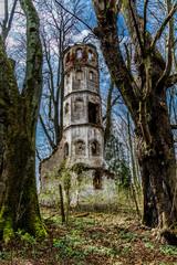 Lost Place - Kirche von Sankt Georg bei Aichach nahe Augsburg aus dem 14. Jahrhundert