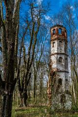 Alter Turm im Wald - St. Georg Kirche bei Aichach nahe Augsburg