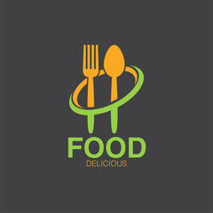 food logo icon concept