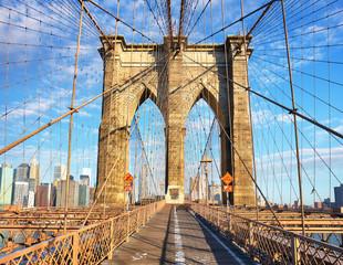 Wall Mural - Brooklyn Bridge, New York City, nobody