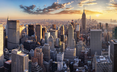 New York City, NYC, USA Fotobehang