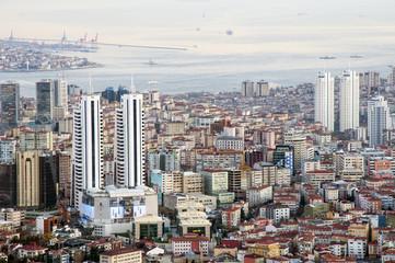 panorama miasta, Istambuł