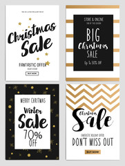 Sale and Discount Christmas Flyers