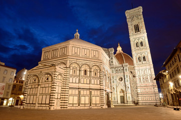 Baptistery in Florence,Italy