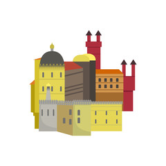 Old Town Architecture Portuguese Famous Symbol