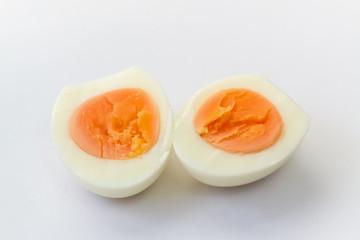 Boiled chicken egg