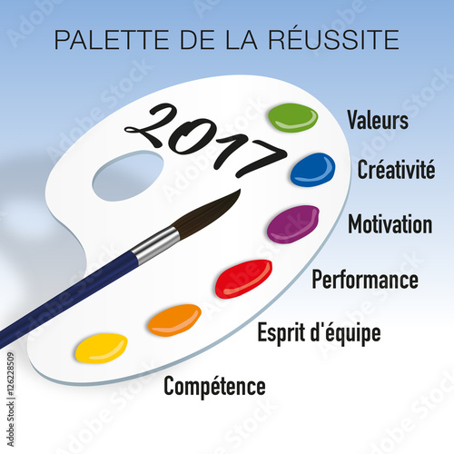 """Souvent 2017 - Entreprise - Palette - Réussite"""" fichier vectoriel libre de  FR04"""