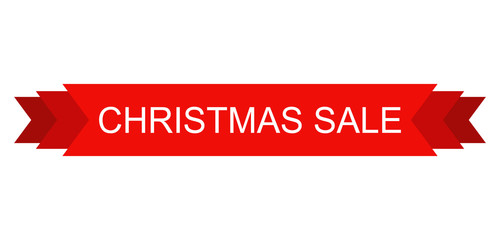 christmas sale design element