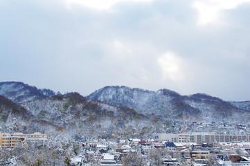 札幌の冬景色