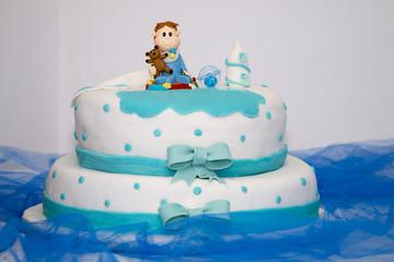 Sweet boy cake