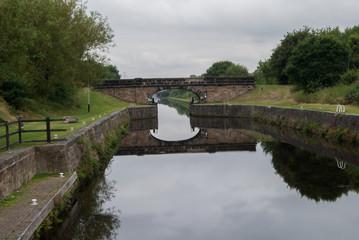 WATER CHANNEL BRIDGE, WAKEFIELD, ENGLAND