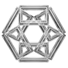 geometric symbol, rectangular shapes