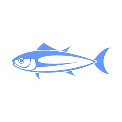 Tuna fish vector icon