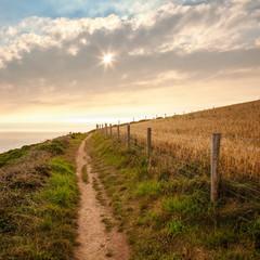 Küsten Wanderweg in Cornwall