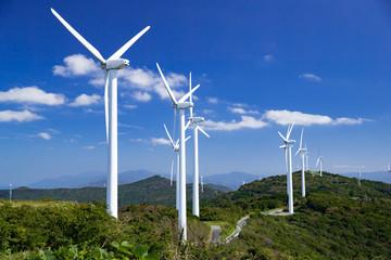 風力発電施設(ウインドパワー) 佐田岬半島