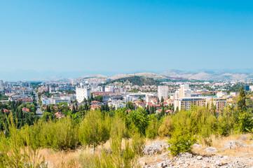 Podgorica landscape, Montenegro