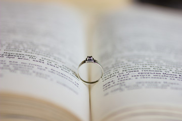 A engagement ring in the bible