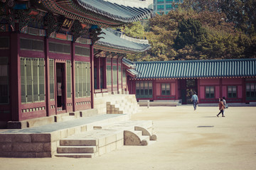 Deoksugung Palace in Seoul, South Korea. It is also known as Gyeongun-gung, or Deoksu Palace