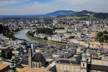 A beautiful city in Austria named Salzburg
