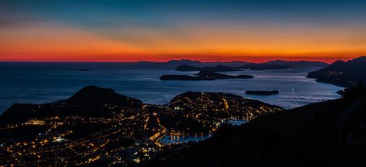 Dubrovnik Sunset I