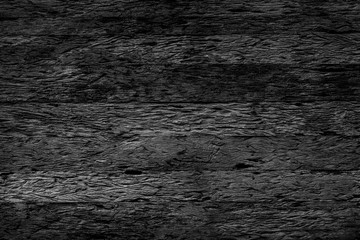 Grunge old wood wall texture background black and white