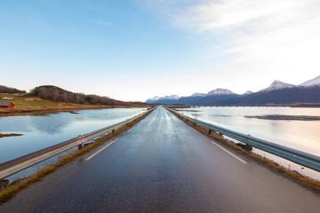 Lato na lofotach, Nordland, Norwegia