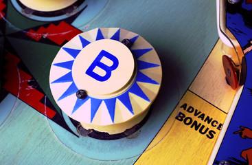 "Pinball machine ""B"" bumper"