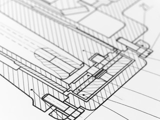Technical drawing.