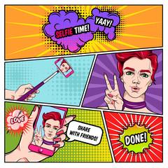 Selfie Comics Page