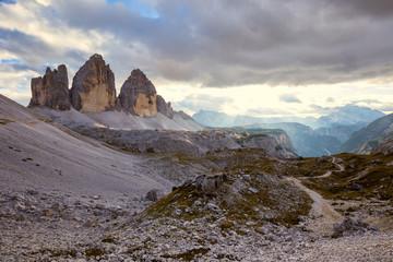 """Tre Cime di Lavaredo """" Drei Zinnen """" in Dolomite Alps"""