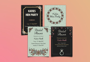 Hen/Bachelorette Party Invitation Layout 2