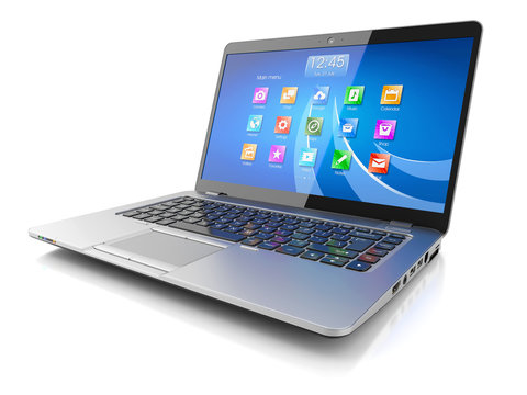 Laptop computer with OS