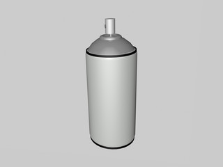 Spray can/Spray can 3d render