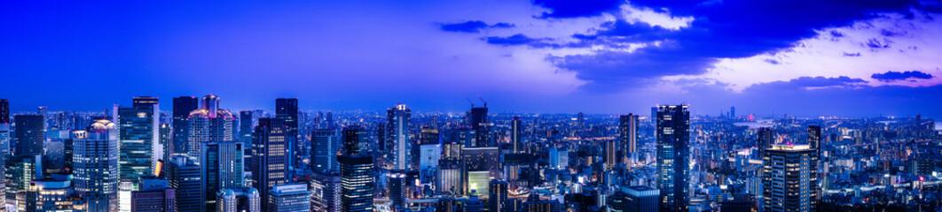 Poster de jardin Singapoure 都市の夜景