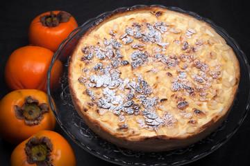 Fresh Persimmon Cake