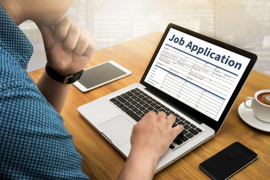 Job Application Hiring fine new job Document Form Hiring