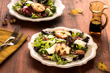 Grilled Apple Salads