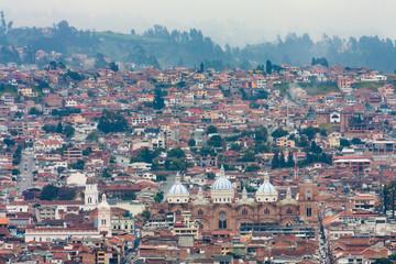 City view of Cuenca Ecuador