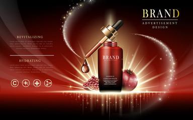 pomegranate essence concentrate ad