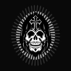 grim reaper head