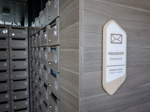 letterbox and mail room